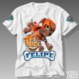 Camiseta Patrulha Canina Zuma