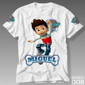 Camiseta Patrulha Canina 008