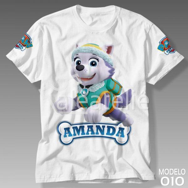 Camiseta Patrulha Canina Everest
