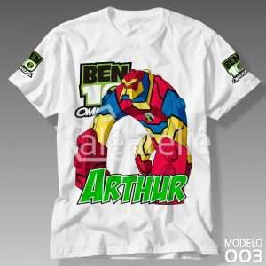 Camiseta Ben 10 Bloxx