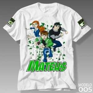 Camiseta Ben 10 Omnitrix 005
