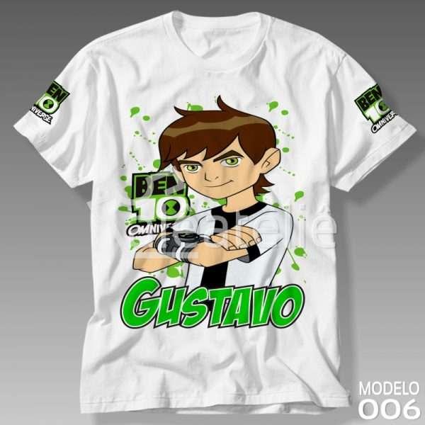 Camiseta Ben 10 Omnitrix