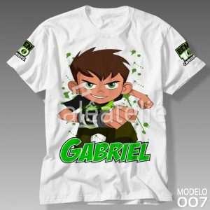 Camiseta Ben 10 Omnitrix 007