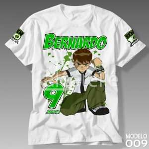 Camiseta Ben 10 Personalizada