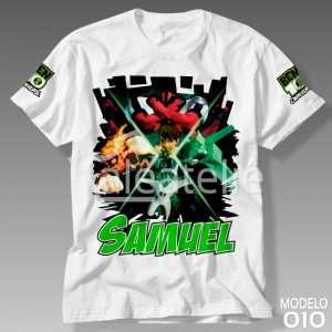 Camiseta Ben 10 Omnitrix 010