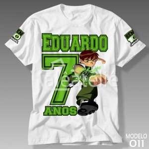Camiseta Ben 10 Omnitrix 011