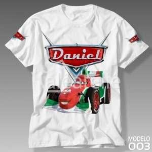 Camiseta Carros Disney Francesco
