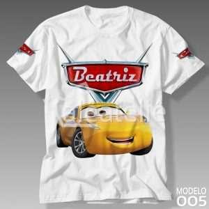 Camiseta Carros Disney Cruz Ramirez