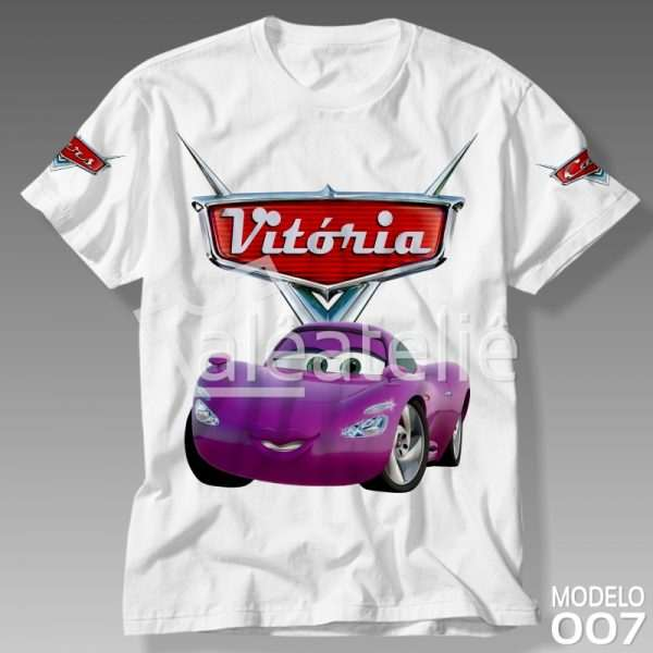 Camiseta Carros Disney Holley