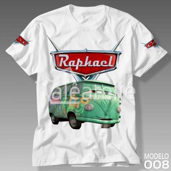 Camiseta Carros Disney Fillmore