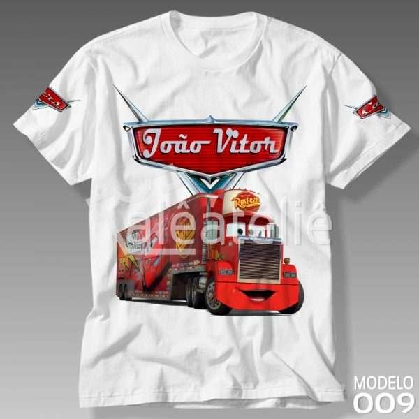 Camiseta Carros Disney Mack