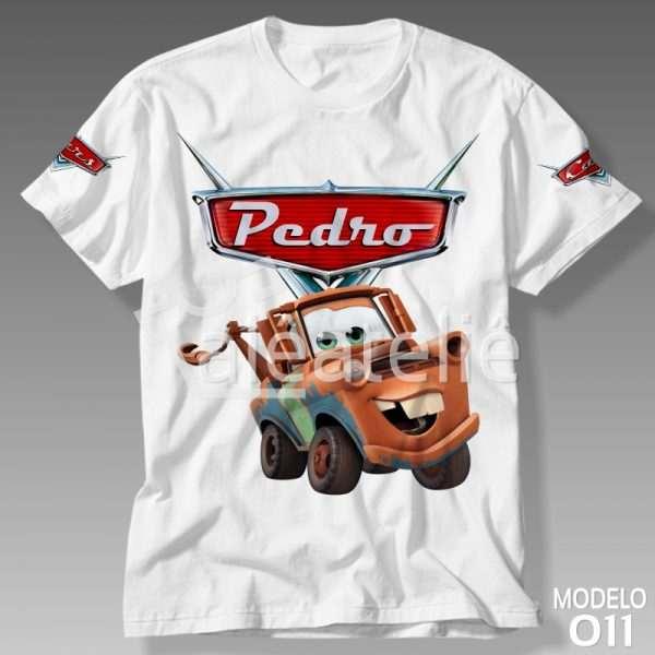 Camiseta Carros Disney Mate