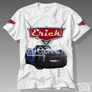 Camiseta Carros Disney 013