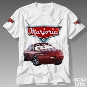 Camiseta Carros Disney 015