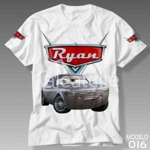 Camiseta Carros Disney 016