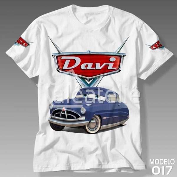 Camiseta Carros Disney Doc Hudson