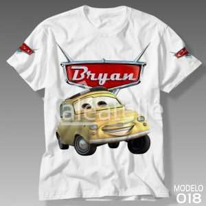 Camiseta Carros Disney 018