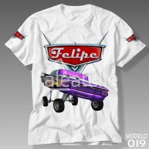 Camiseta Carros Disney 019