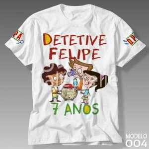 Camiseta Detetives do Prédio Azul 004
