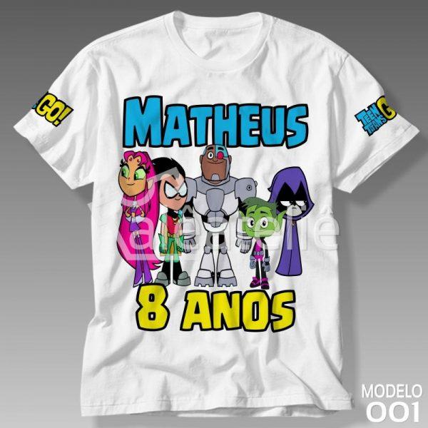 Camiseta Jovens Titans