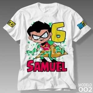 Camiseta Jovens Titans 002