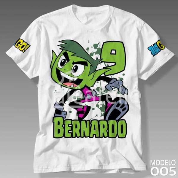 Camiseta Jovens Titans Mutano
