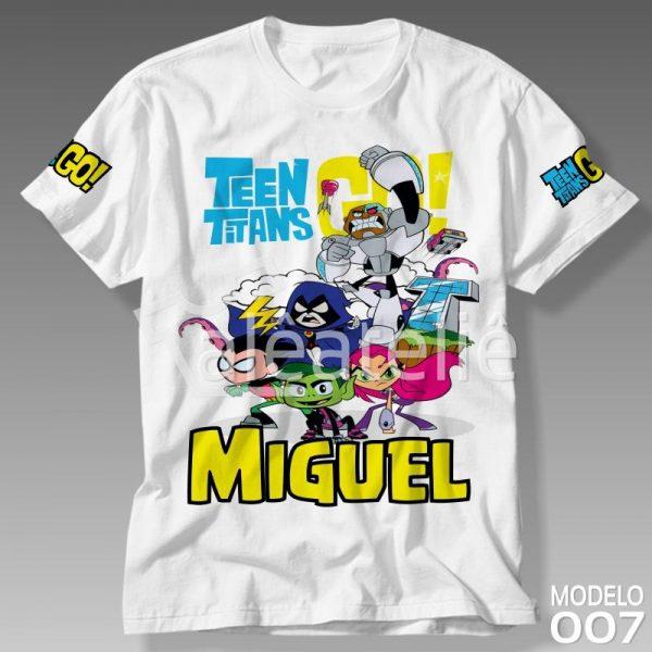 Camiseta Jovens Titãs