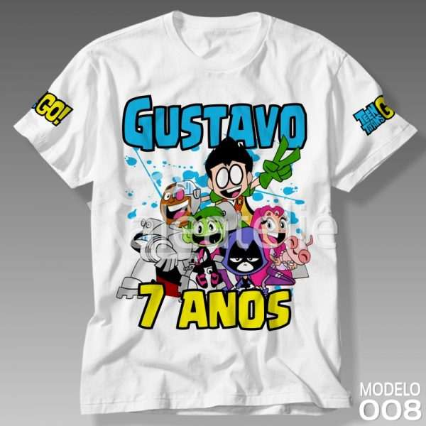 Camiseta Teen Titans