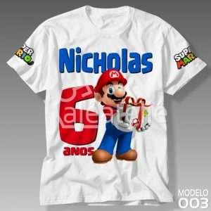 Camiseta Super Mario Bros Aniversario