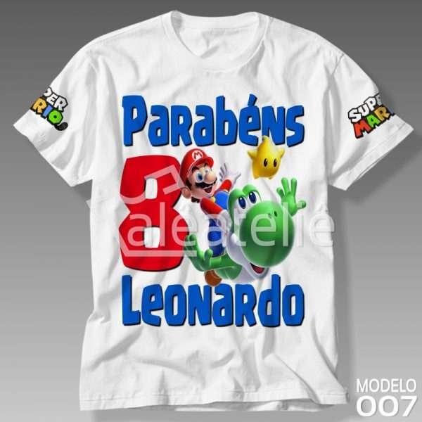 Camiseta Super Mario Galaxy
