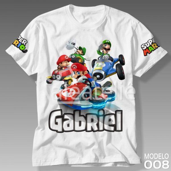 Camiseta Mario Kart