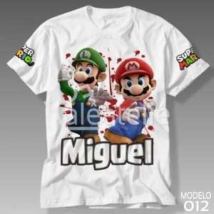 Camiseta Super Mario Bros 012