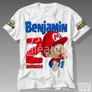 Camiseta Super Mario Bros 022