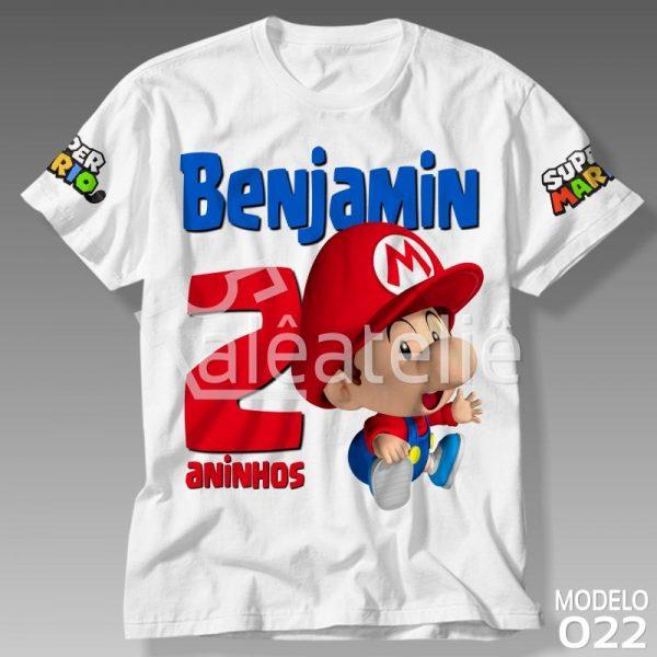 Camiseta Super Mario Baby
