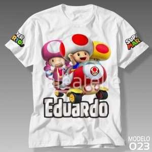 Camiseta Super Mario Bros 023