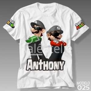 Camisa Super Mario Bros