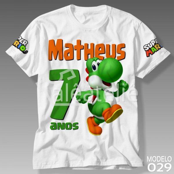 Camiseta Yoshi Personalizada