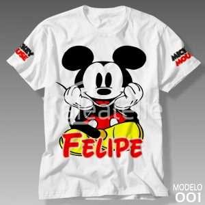 Camiseta Mickey Mouse