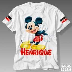 Camiseta Mickey Mouse Disney