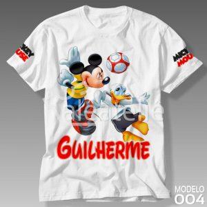 Camiseta Mickey Mouse Masculina