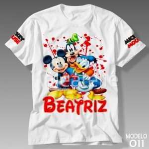 Camiseta Mickey Mouse 011