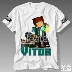 Camiseta Minecraft 008