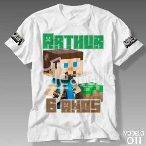 Camiseta Minecraft 011