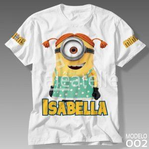 Camiseta Minions Feminina