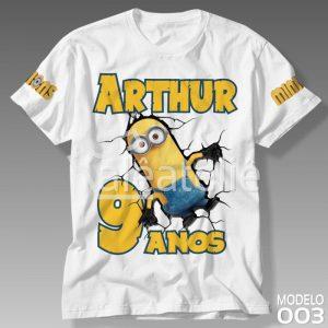 Camiseta Minions Infantil