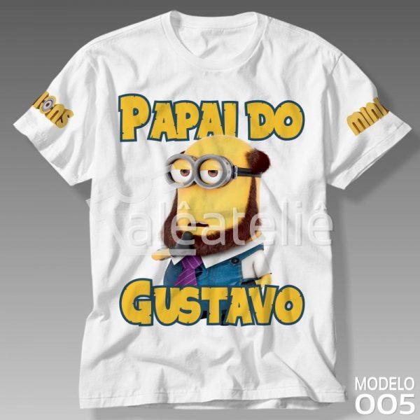 Camiseta Minions Masculina