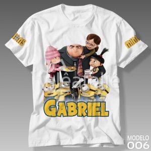 Camiseta Minions Personalizada