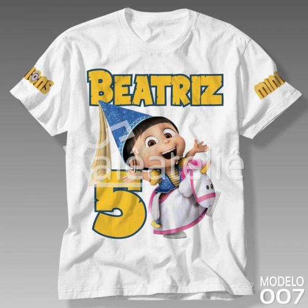 Camisa Minions Agnes