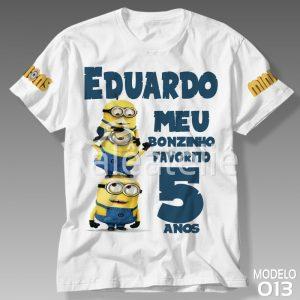 Camiseta Personalizada Festa Minions