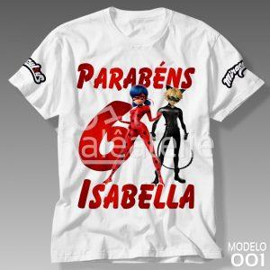 Camiseta Miraculous 001